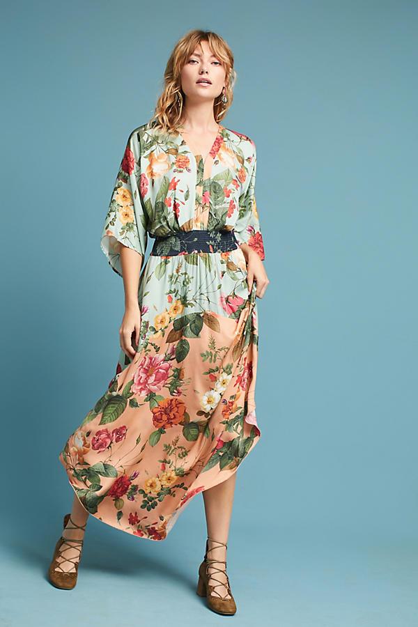 ee7d0fd1b829 Farm Rio Marilla Maxi Dress from Anthropologie £188