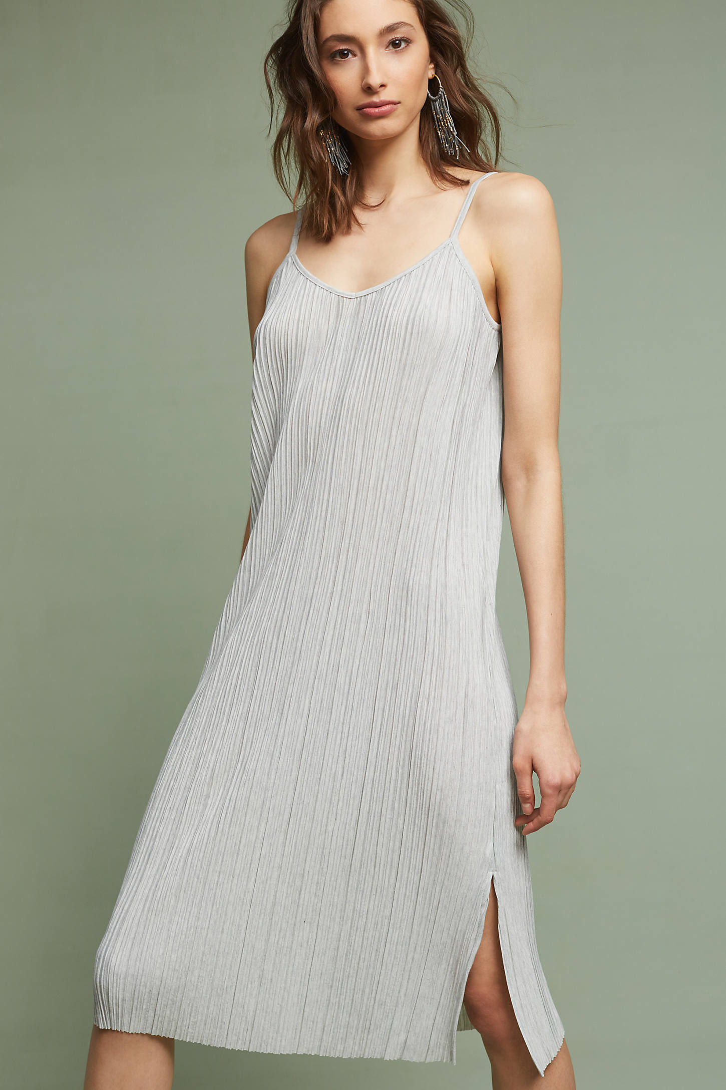 Textured Slip Dress