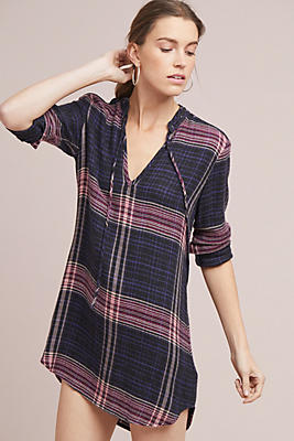 Slide View: 2: Cloth & Stone Versify Tunic Dress