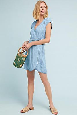 Slide View: 1: Cloth & Stone Juniper Wrap Dress