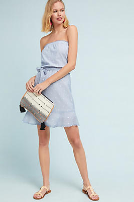 Slide View: 1: Cloth & Stone Clip-Dot Dress