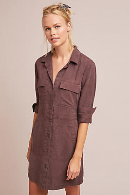 Slide View: 1: Cloth & Stone Utility Shirtdress