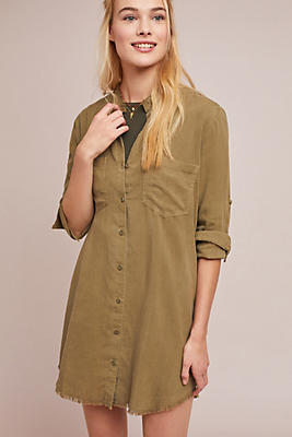 Slide View: 1: Cloth & Stone Cadet Shirtdress