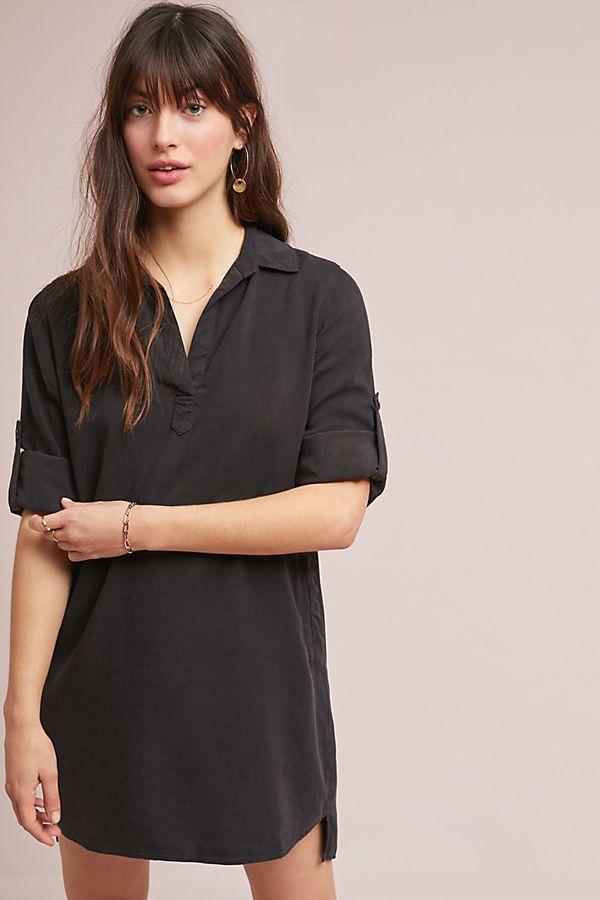 cloth stone blaire shirtdress anthropologie