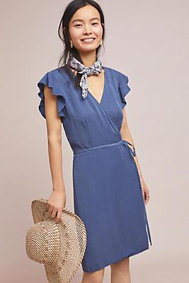 Slide View: 1: Cloth & Stone Marlow Wrap Dress