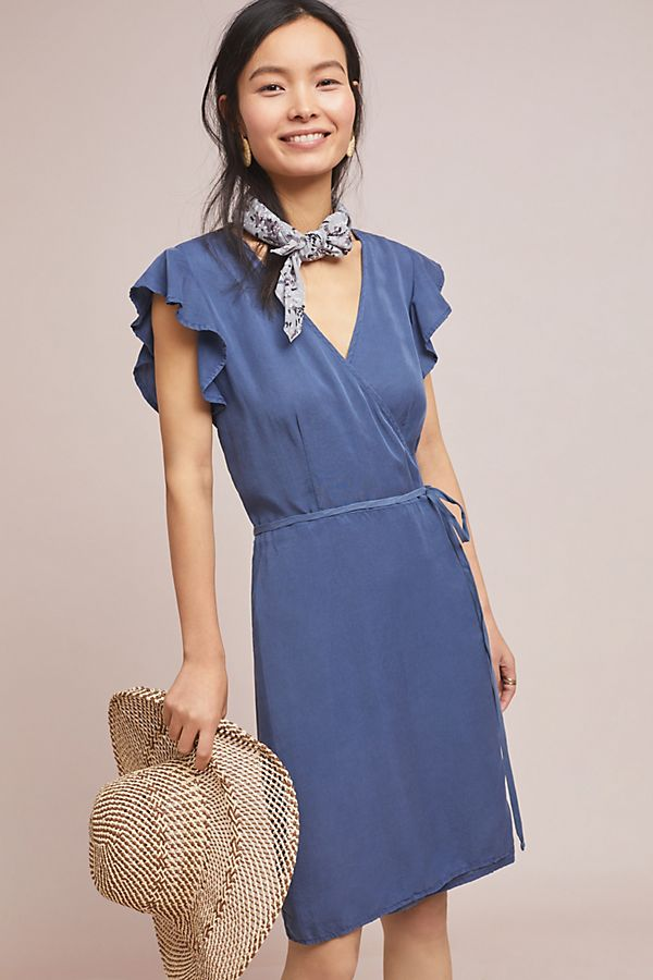 Slide View: 1: Cloth & Stone Marlow Wrap Dress