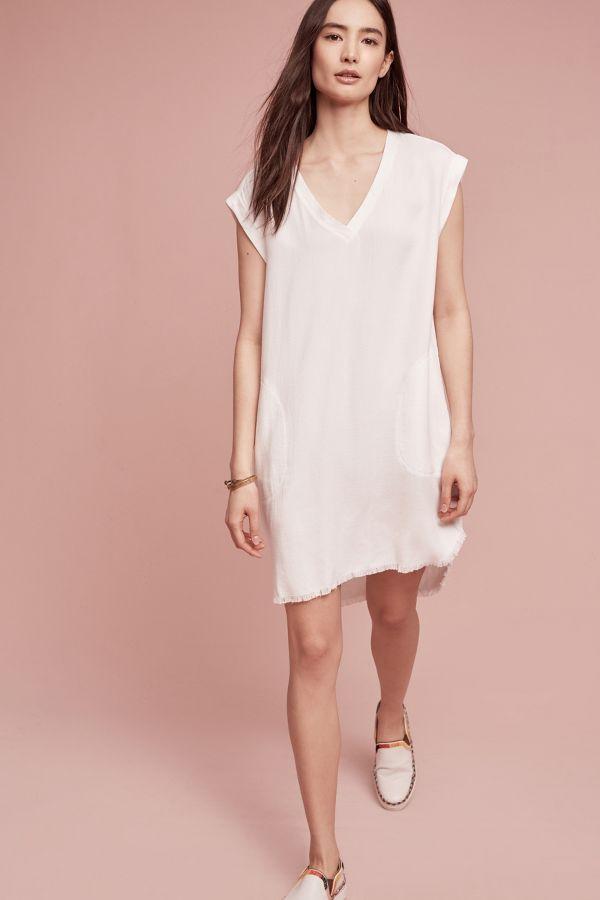 Cloth & Stone Frayed Tunic Dress