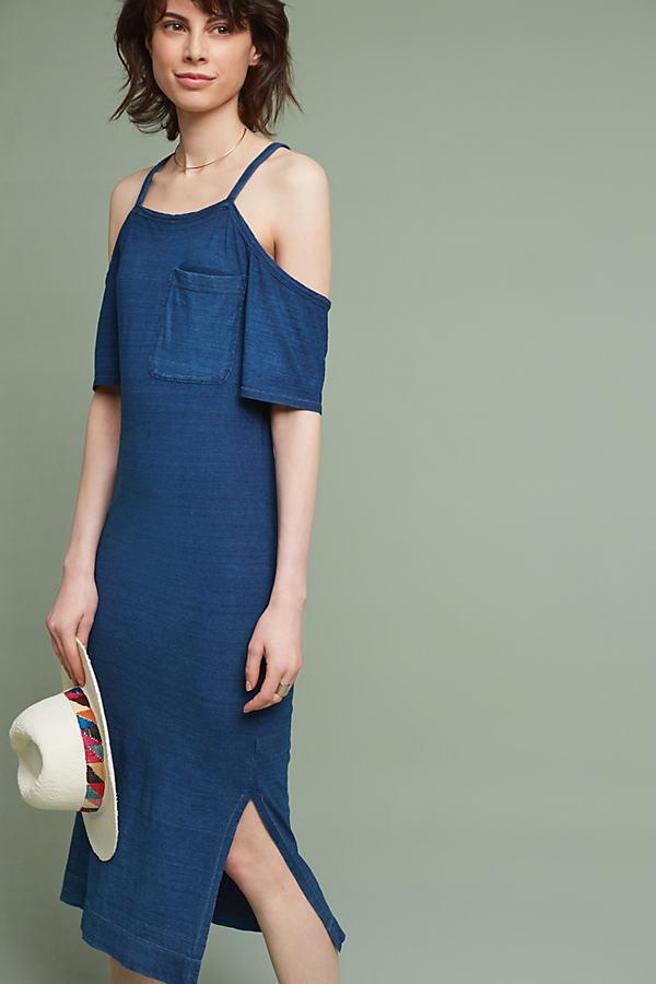 Hilde Midi Dress - Blue, Size S