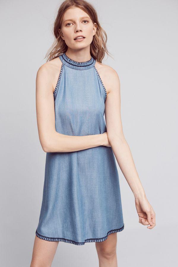 Cloth & Stone Lazuli Halter Dress