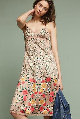 Slide View: 1: Cerys Floral Slip Dress
