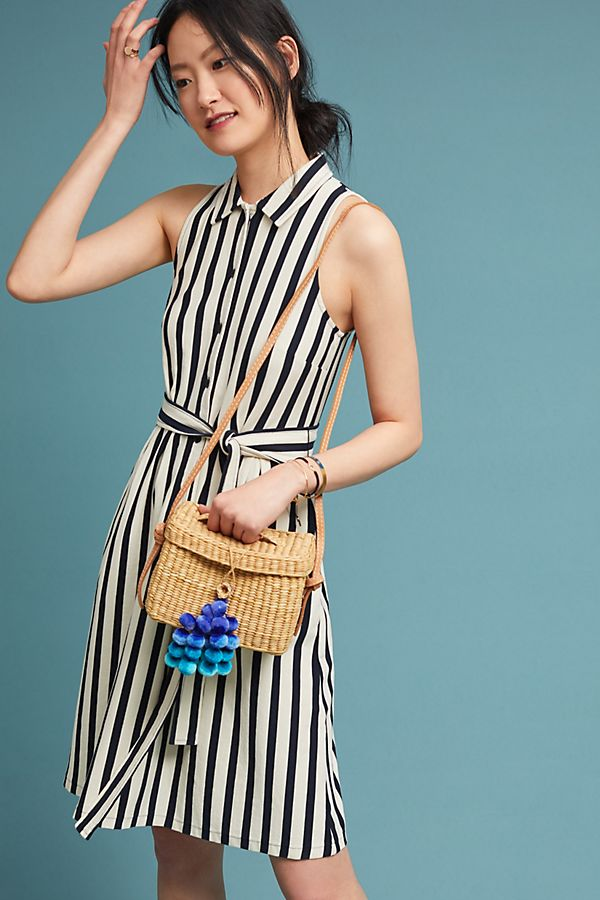 Slide View: 1: Nautical Shirtdress