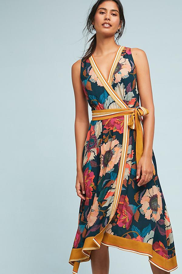 Botanica Wrap Dress - Assorted
