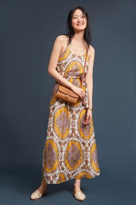 Medallion Maxi Dress by Akemi + Kin