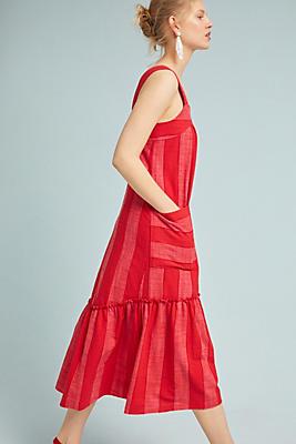 Slide View: 2: Tonal Striped Dress