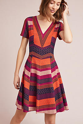 Slide View: 2: Burbank Striped Dress