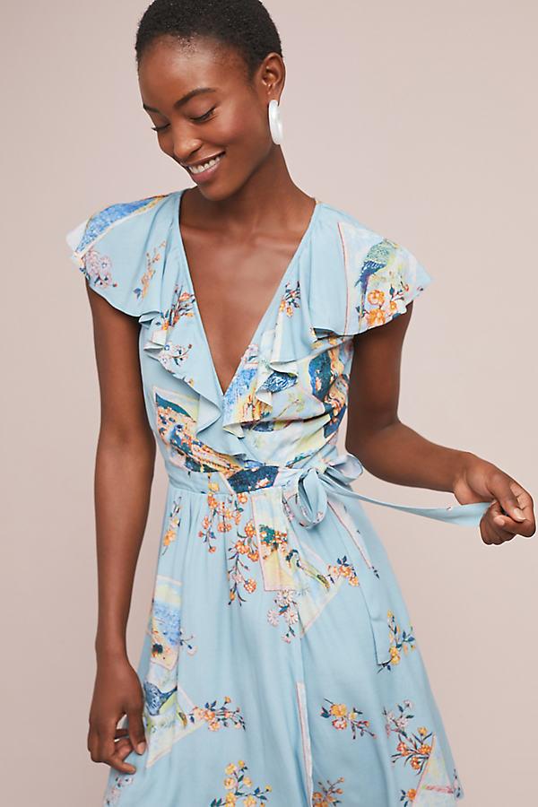 Rosalia Wrap Dress - Assorted
