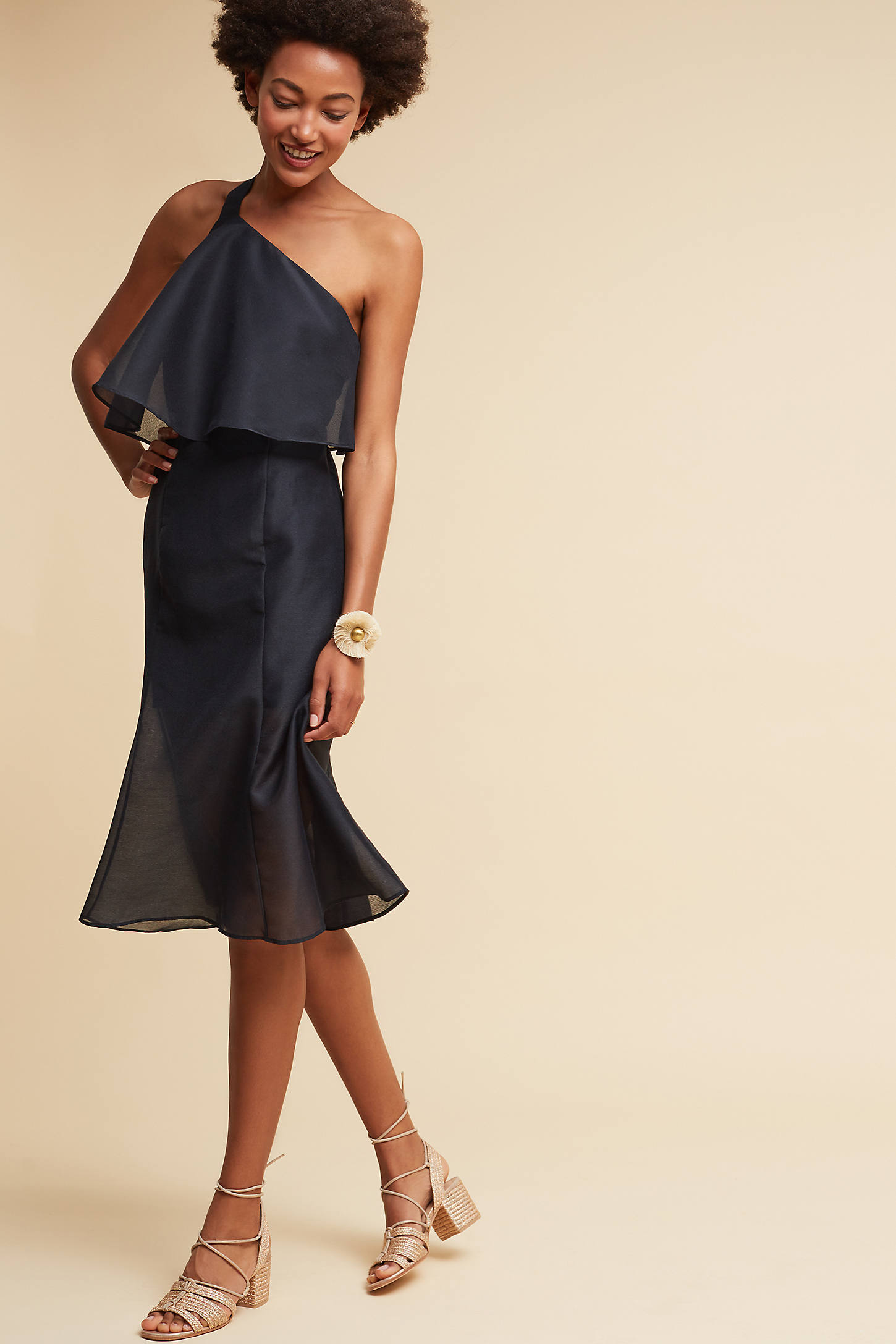 Gala One-Shoulder Dress