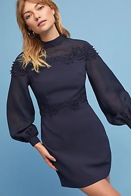 Slide View: 1: Notte High-Neck Dress