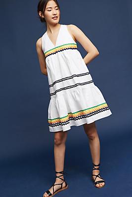 Slide View: 1: Lunedi Flounced Dress