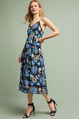 Slide View: 1: Marlene Floral Lace Dress