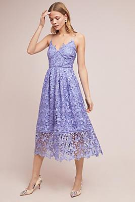 Slide View: 1: Sherbert Lace Midi Dress