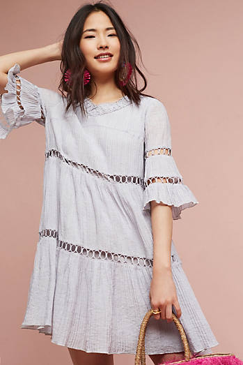 Clara Lace Swing Dress