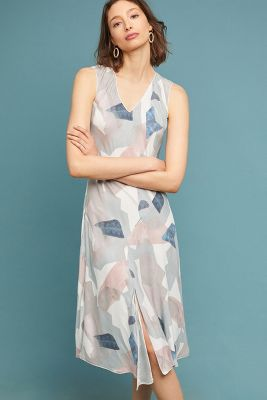 Matisse Silk Midi Dress by Go By Go Silk