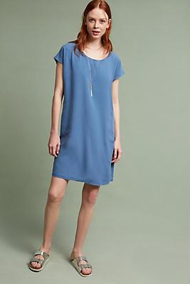 Slide View: 1: Dany Silk T-Shirt Dress