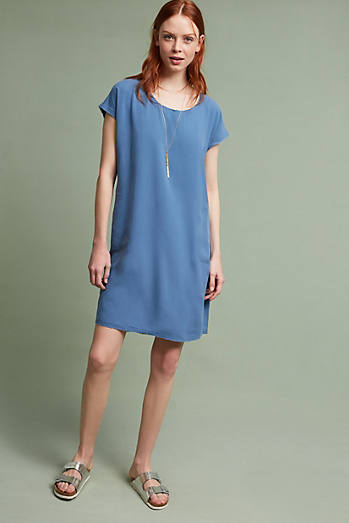 Dany Silk T-Shirt Dress