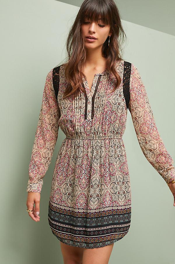 Phoenicia Petite Dress - Assorted, Size L Petite
