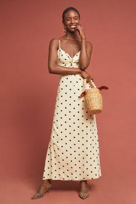 2aae86946f44 Lydia Leopard Silk Slip Dress | Anthropologie