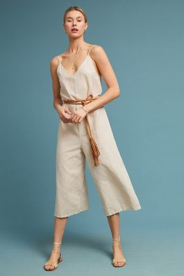 Coyote Cropped Jumpsuit by Lacausa