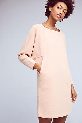Slide View: 1: Cocoon Sweatshirt Dress