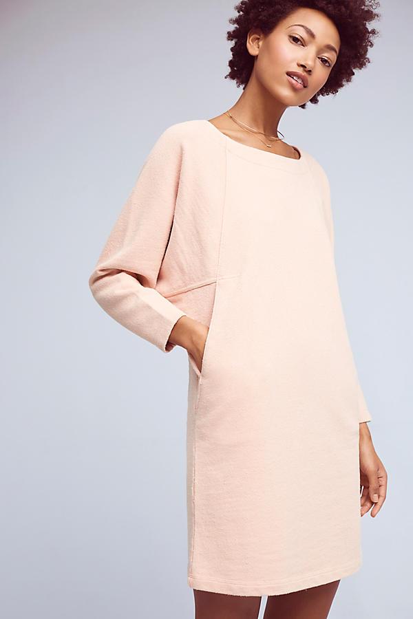Slide View: 1: Cocoon Sweatshirt Dress