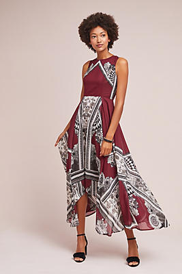 Slide View: 1: Effie Printed Dress