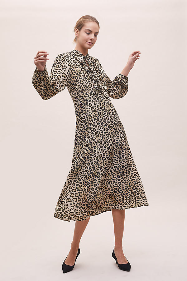 Safari 70's Dress - Assorted, Size Xs
