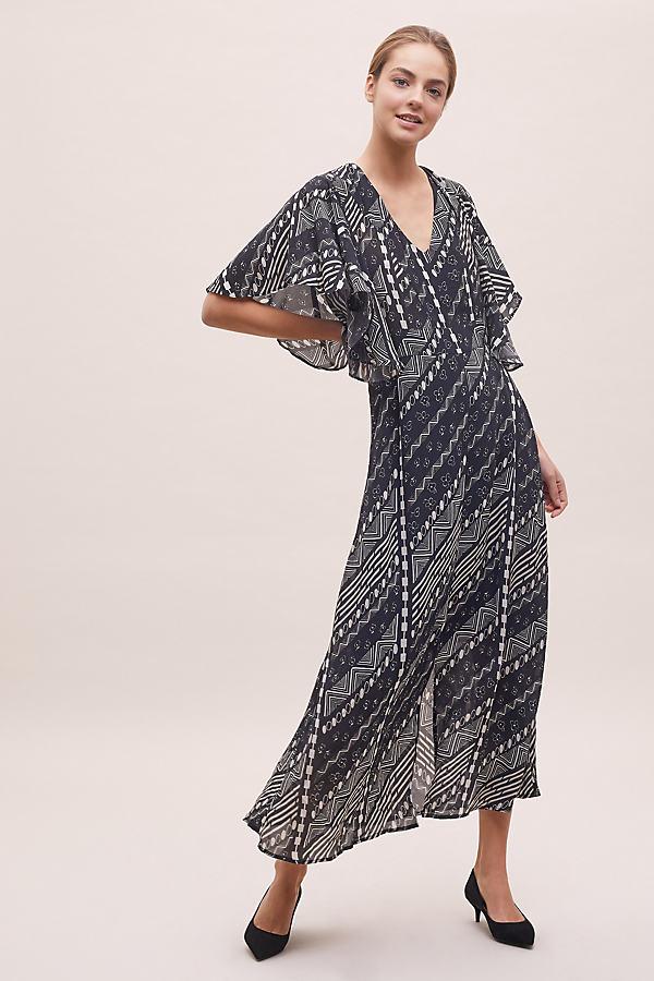 Joplin Floral-Print Dress - Black, Size Xs