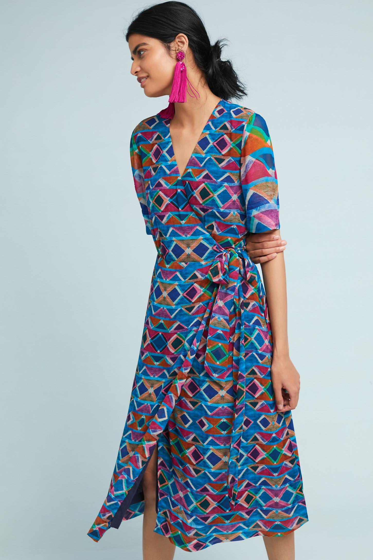 Timara Wrap Dress   Anthropologie