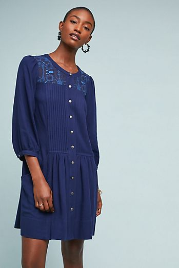 Dubois Embroidered Tunic Dress a46614ea76