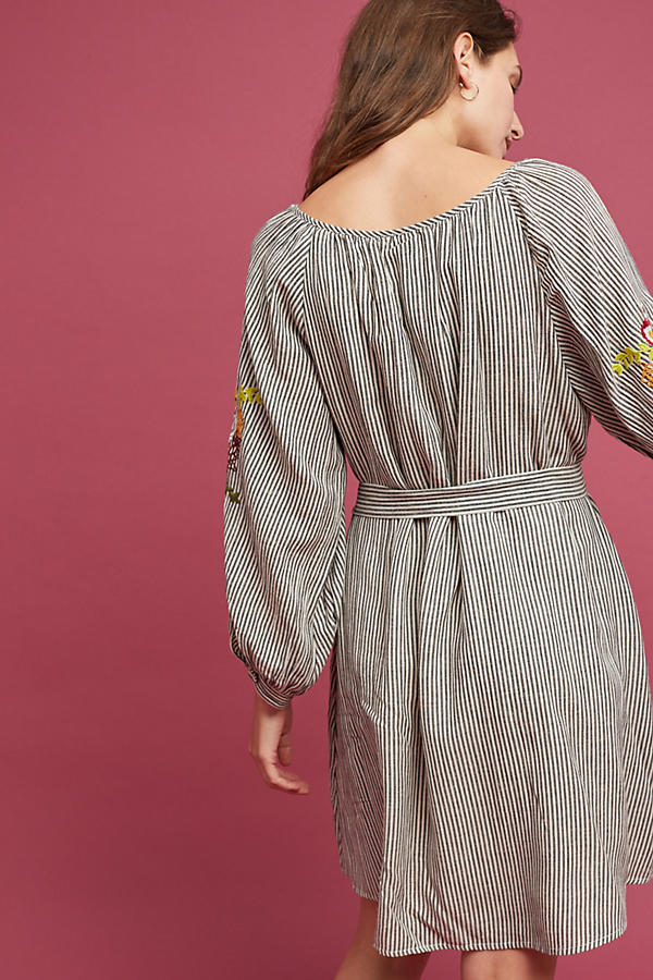 Slide View: 3: Lindsey Embroidered Tunic Dress