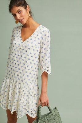 Eyelet Tunic Dress by Meadow Rue