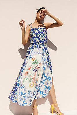 Slide View: 1: Passaro Printed Dress