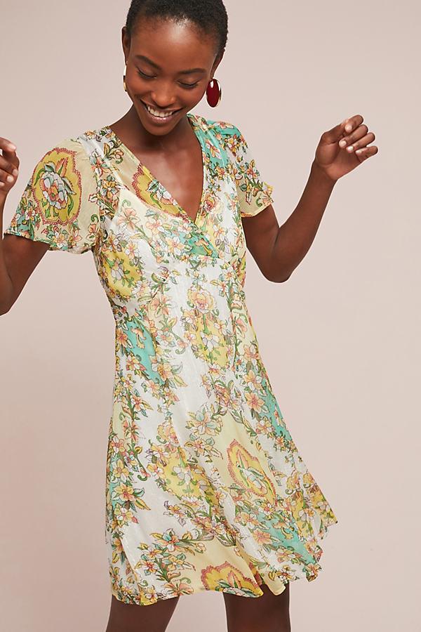 Majke Floral-Print Wrap Dress - Assorted, Size S