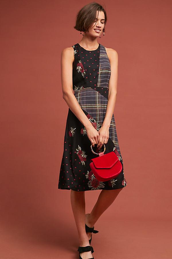 Alva Printed Midi Dress - Assorted, Size Uk 10