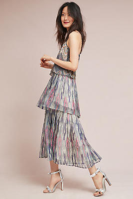 Slide View: 1: Josie Tiered Maxi Dress