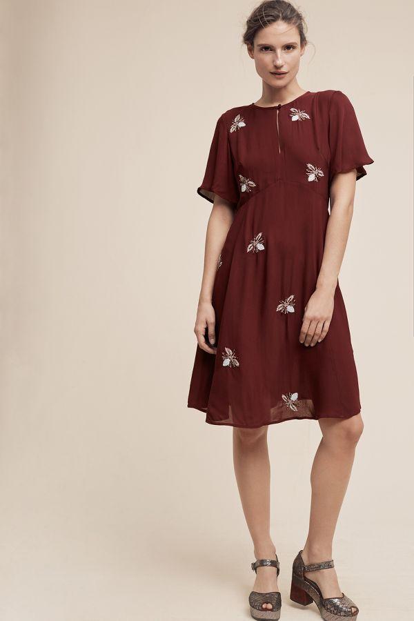 Moulinette Soeurs Beaded Firefly Dress