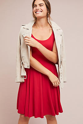 Slide View: 1: Estoria Textured Swing Dress