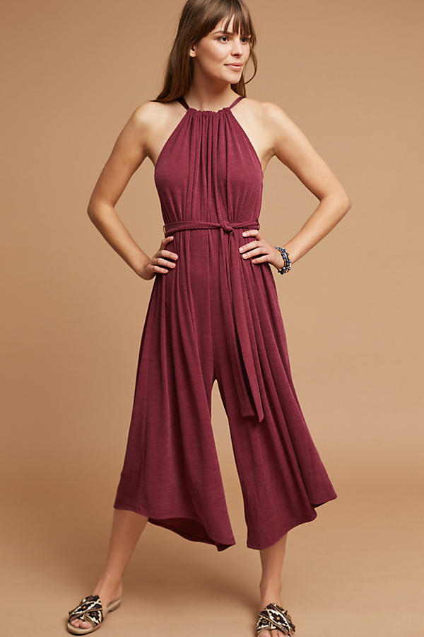 Slide View: 1: Jacenta Wide-Leg Jumpsuit