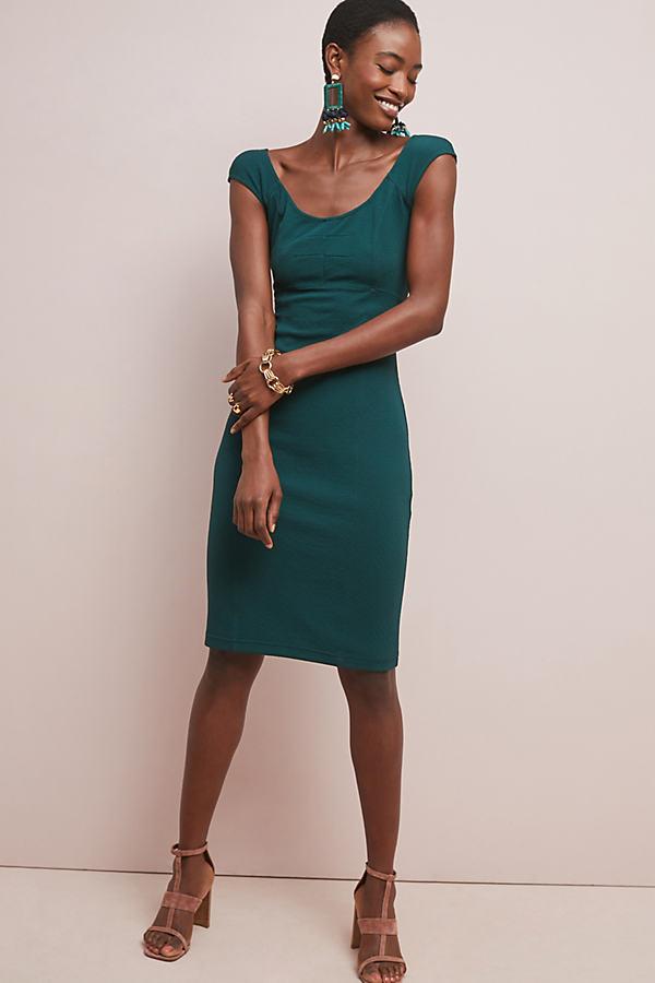 Kaira Column Dress - Green