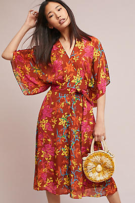 Slide View: 1: Tambourine Kimono Dress